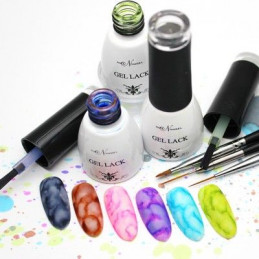 "Set of polish ""Watercolor..."