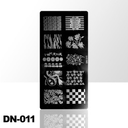 Stamping plate DN-011