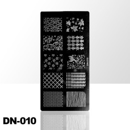 Stamping plate DN-010