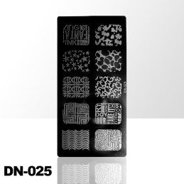 Stamping plate DN-025